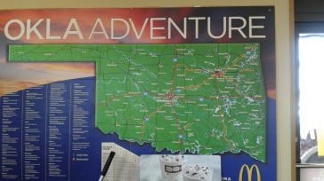 Map found at a McDonalds near McAlester