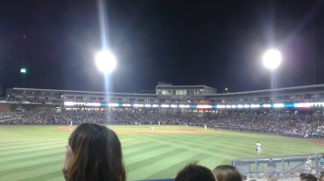 Tulsa Drillers baseball game