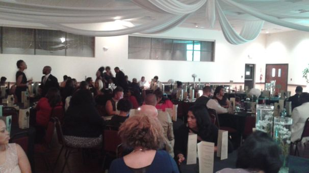 The 2014 J'Parle Scholarship Event held at the Okapi Event Center.