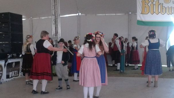 Performers at the 2014 Oktoberfest