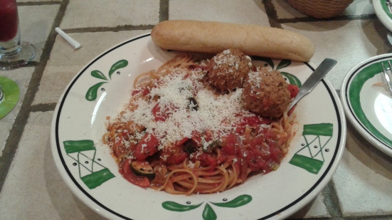 I had to include this delicious dinner for 1 at Olive Garden. ..don't cheat yo self, treat yo self