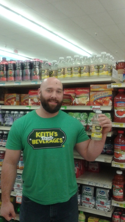 And how can I forget,  Keith's Ice Cold Lemonade is now on shelves in Reasor's all over town!