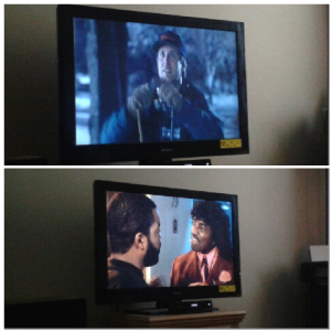 We watched two of my favorite Christmas movies,  National Lampoons Christmas Vacation and Friday after Next.