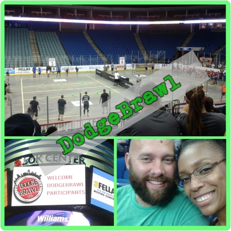 The Tulsa DodgeBrawl Tournament at Tulsa's BOK Center.