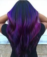 dark purple black