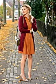 orange fall clothes