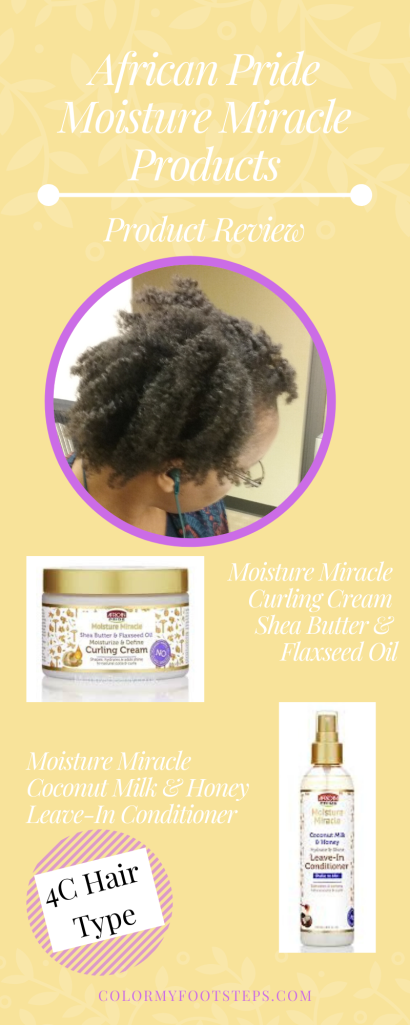 African Pride Moisture Miracle Products - Product Review